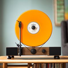 Floating Record Player by Gramovox