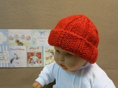 This cute little hat is a perfect hat for any little one. The very chunky beanie is designed to have a large fold back band which could be taken