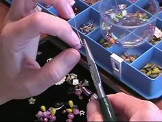 Wire Wrapping Beads for bracelets, necklaces, and other Jewelry - Cassie Donlen - YouTube