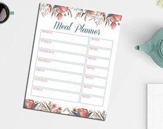 Meal Planner Printable: https://www.etsy.com/shop/LNPrintables