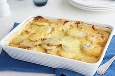 Potato, Bacon, Onion and Garlic Bake