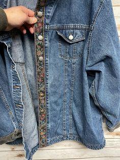Flannel Shirt, Denim Shirt, Denim Button Up, Button Up Shirts, Rider Jeans, Cowboys Shirt, Jean Shirts, Western Shirts, Metal Buttons