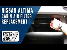 Cabin Air Filter Replacement   Nissan Altima | Nissan Cabin Air Filter  Replacement Videos | Pinterest | Nissan Altima And Nissan