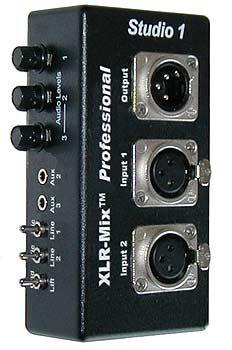 3 Channel Audio Mixer