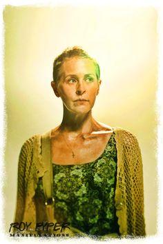 The Walking Dead: Carol: BuzSim Paint Re-Edit by nerdboy69 on deviantART