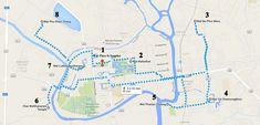Carte Ayutthaya Thailande