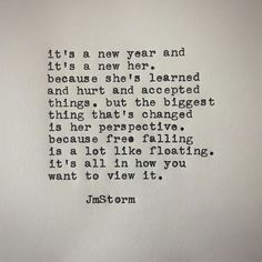 I am no longer free falling. She Quotes, Best Quotes, Funny Quotes, Random Quotes, Qoutes, Jm Storm Quotes, New Year New Me, Good Morning Texts, Healing Words