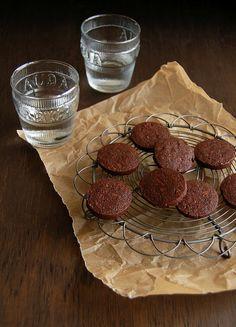 Biscoitos mocha, para alguém que agora ama café