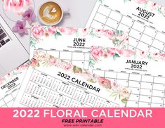 Free Printable 2022 Year and Month Calendars - Wiki Calendar