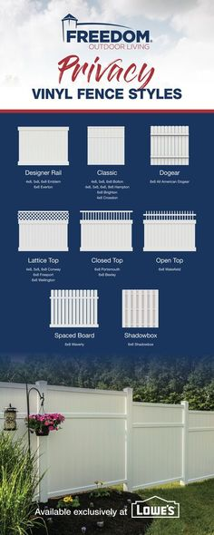 38 Beautiful Functional Fences Ideas In 2021 Fence Vinyl Fence Building A Fence