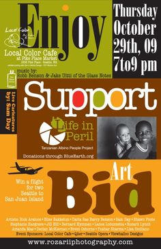using local art fundraisers