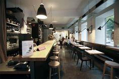 Wine studio / Vīna studija Riga, Latvia, Elizabetes ielā 10.  Author: 1plus1 studija