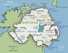 Northern Ireland - Home of the Ulster-Scots (aka Scots-Irish)