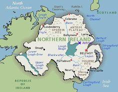 Northern Ireland - Home of the Ulster-Scots (aka Scots-Irish)