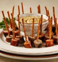 this Oktoberfest appetizer for a crowd Sausage, pretzels and German mustard make fun finger food.Sausage, pretzels and German mustard make fun finger food. German Appetizers, Appetizers For A Crowd, Food For A Crowd, Appetizer Recipes, Sausage Appetizers, Party Appetizers, All You Need Is, Octoberfest Party, Beer Tasting Parties