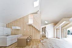 HOUSE K  SAPPORO, HOKKAIDO / JAPAN / 2009 by Sekkei-sha inc #architecture #japanese