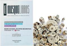 """Me han seleccionado también para exponer en el Museo Nacional de Artes Decorativas de Madrid. """"Ciento veinte formas de hilar el vacío"""" estará expuesta desde el 25 de Mayo al 8 de Junio."""
