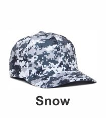 6d2cc5a2021 Snow Digital Camo Hat 708F by Pacific Headwear at Graham Sporting Goods  Camo Patterns