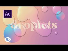 Liquid Droplets on Adobe After Effects Tutorial Motion Design, Mouth Animation, Zombie Makeup Tutorials, Adobe After Effects Tutorials, Monster Makeup, Pastel Designs, Frame By Frame Animation, Motion Backgrounds, After Effect Tutorial