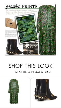 """""""Lucky Star"""" by sherieme ❤ liked on Polyvore featuring N°21, Gucci, Poketo and Elie Saab"""