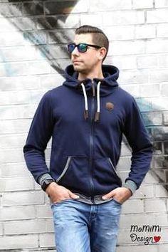 German hoodie sewing pattern