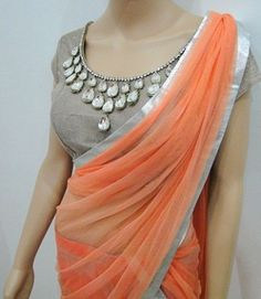 15 Beautiful Blouse Front Neck Designs for Ladies