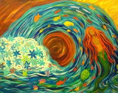 whimsical acrylic painting ideas - Google Search