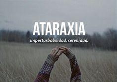 ✧pιnтereѕт: MarhyaJs✧ ATARAXIA
