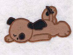 Cute Puppies Machine Embroidery Designs http://www.designsbysick.com/details/cutepuppies