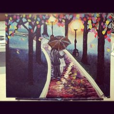 Walk way to Dreams Painting by Laura Ashley by LaurbieLou on Etsy, $50.00