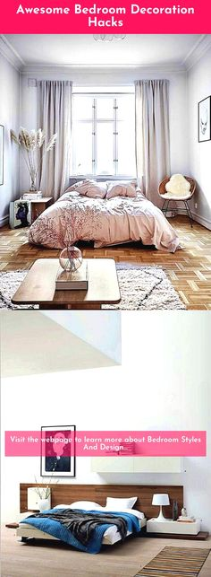 Bedroom remodel ideas - Too many furniture pieces could make any room look cramp. Bedroom remodel ideas - Too many furniture pieces could make any room look cramp. Design Your Bedroom, Bedroom Designs, Bedroom Decorating Tips, Furniture Styles, Furniture Ideas, Bedroom Accessories, Awesome Bedrooms, Bedroom Styles, Soft Furnishings