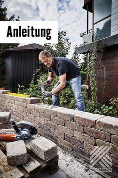 Mauern Im Garten In 2020 Gartenmauer Steinmauer Garten Gartenmauern