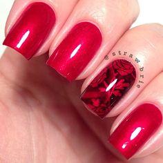 Instagram photo by strawbrie  #nail #nails #nailart