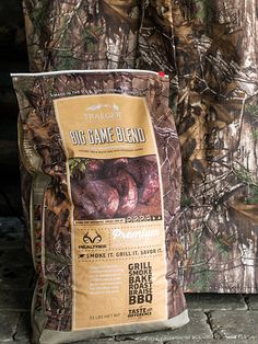 Introducing our new Big Game Rub, Big Game Pellets, and camo RealTree Grill Covers. Since the dawn of time, humans have hunted and cooked over wood--Now it's time to take your big game trophies to the Traeger. We've teamed up with @realtreeoutdoors, the original innovator of camouflage concealment, to create three new products that will enrich any outdoor lifestyle. Cooking primal, wood-fired, harvest-to-plate food for your family just got more flavorful. Check out these exclusive new items.
