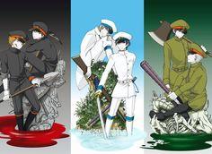 獄卒の皆さん大好きです。 Maker Game, Rpg Maker, Alice, Rpg Horror Games, Manga Games, Shiro, Illustrations And Posters, Underworld, Haikyuu