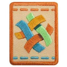 SENIOR TEXTILE ARTIST BADGE $1.50 #61515 Girl Scout badges, awards, and other insignia that are earned for the accomplishment of skill building activities or any set requirements should be presented, worn, or displayed only after Girl Scouts have completed the requirements outlined in the appropriate program materials.