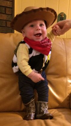 Infant Woody Toy Story Halloween costume. Cowboy boots. c90e4069f2e