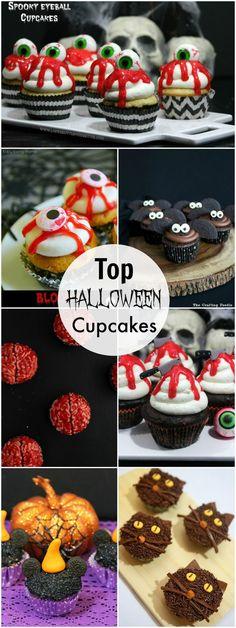 262 best halloween cupcakes images in 2019 halloween halloween rh pinterest com