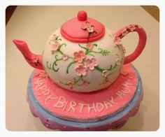Sweet cakes...Torte & Dolcetti: Teapot Cake tutorial - Tutorial Torta Teiera, #teapotcake #Birthdaycake #teapotcaketutorial