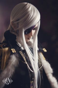 Earl of black tulip----Leo 70+ bjd doll from Angell-studio