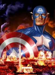 Captain-America-movie-poster-Wizard.jpg by Greg Horn...