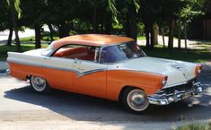 Ford Fairlane Victoria 1956 Maintenance/restoration of old/vintage vehicles: the material for new cogs/casters/gears/pads could be cast polyamide which I (Cast polyamide) can produce. My contact: tatjana.alic@windowslive.com