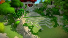 Video Game The Witness Wallpaper More Wallpaper, Wallpaper Backgrounds, 3d Tree, Modeling Techniques, Game Assets, Asset Store, Background Images, Concept Art, Environment