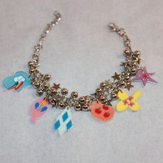 My Little Pony Friendship is Magic Cutie Mark Charm Bracelet by honeyheavenly Twilight Sparkle, Fluttershy, Rainbow Dash, Applejack, Pinkie Pie and Rarity!