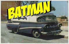 The perfect RV for fighting crime. Vintage Rv, Crime, Batman, Crime Comics, Fracture Mechanics