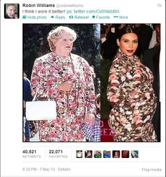 This is why I love Robin Williams!!! Bahahah