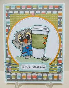 Savvy Handmade Cards (Andrea):  2016 Spring Coffee Lovers Blog Hop