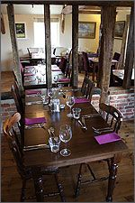 Restaurant at The Parson Woodforde. Large, family-freindly and offering tasty food from fresh ingredients almost exclusively sourced from within Norfolk. Nice.