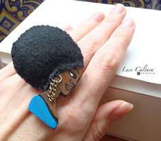 NEW Ring GroovyDoll FATOU by LuceCultura on Etsy, €15.00