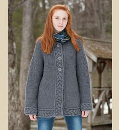 Good looking jacket pattern (bulky weight yarn)